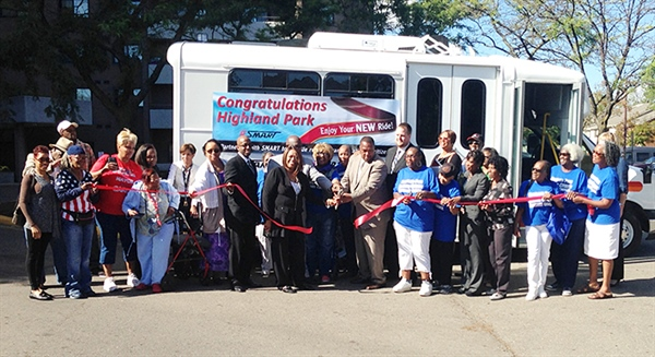 Highland Park Dedicates New SMART Vehicle
