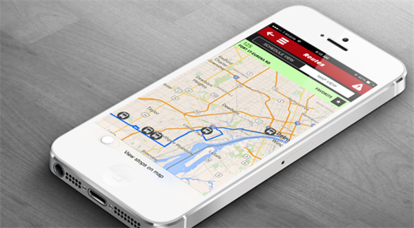 Have you tried the RideSMARTBus App?