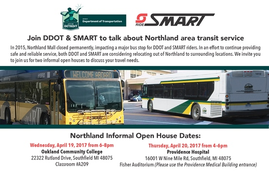 SMART & DDOT discuss Northland