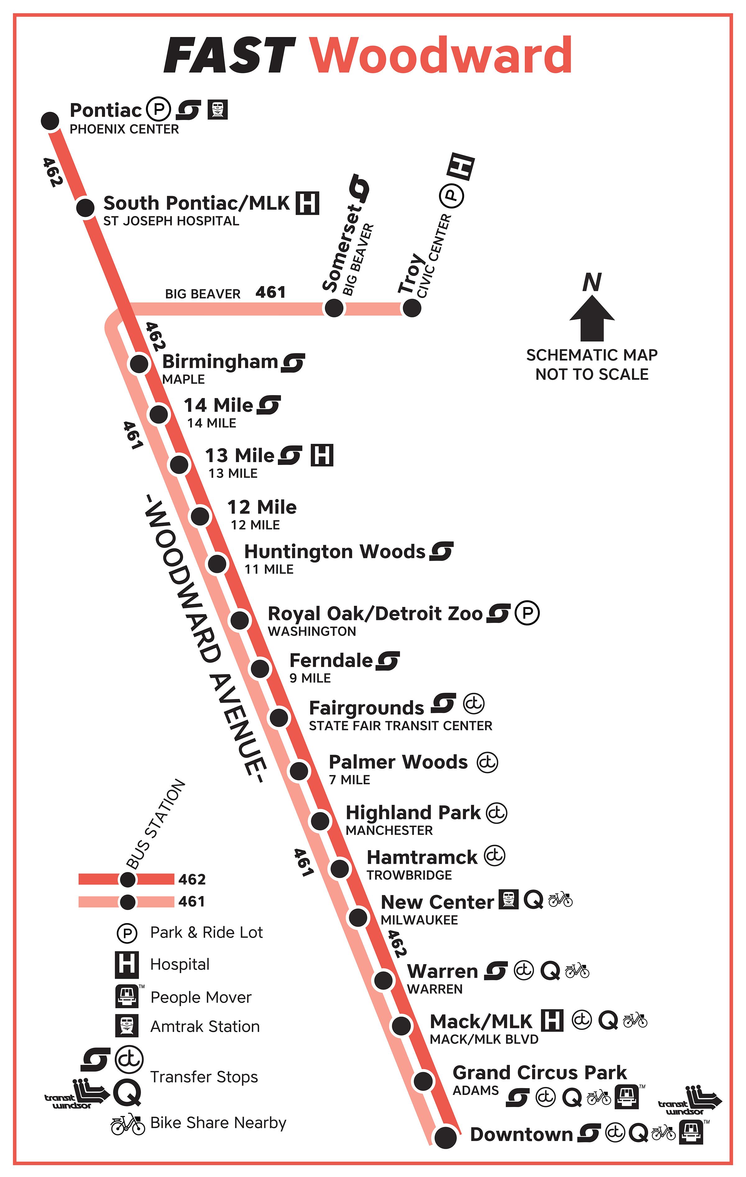 Transit Guide: FAST Bus by SMART - David Gifford - Medium on