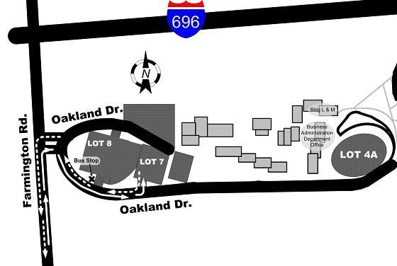 Occ Southfield Campus Map.Smart Schedules Service Bulletins