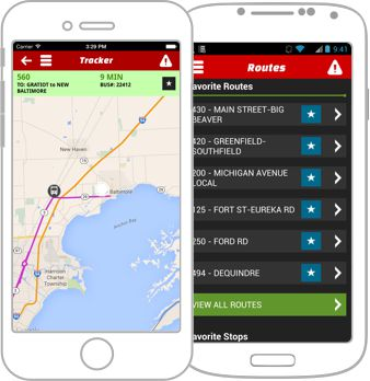 Ride SMART Bus App | for Android and IOS